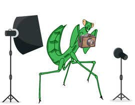 #5 for I  need an artist to take this poor excuse of a image and create a version that looks like a praying mantis with camera and lights for a logo. I need a dng file and vector version by atamosina