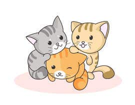 #13 for Cat Illustrations for a Children's book by wahidxaman