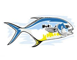 #34 for Graphic Fish Design Needed by Attebasile