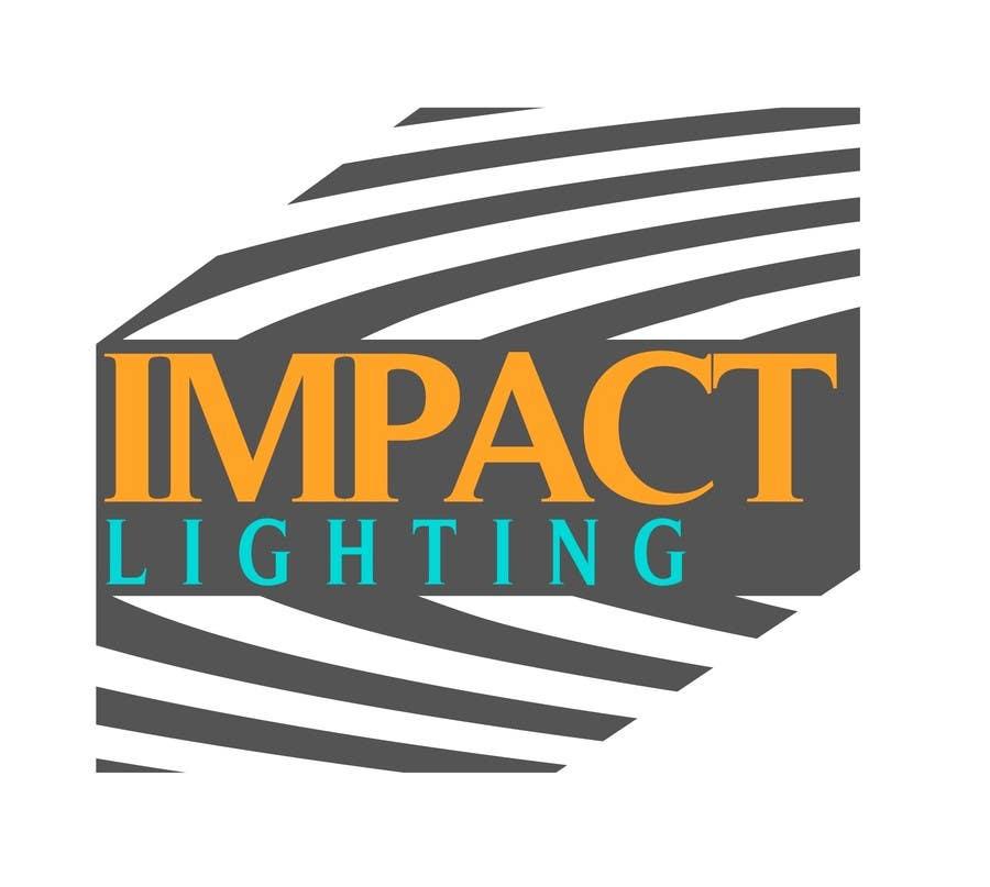 Bài tham dự cuộc thi #184 cho Logo Design for Impact Lighting