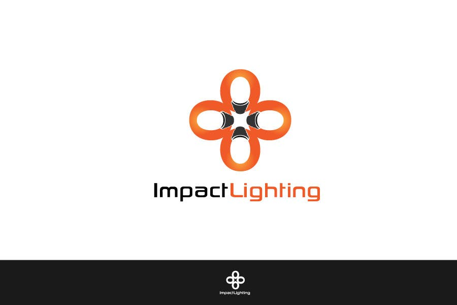#79 for Logo Design for Impact Lighting by danumdata