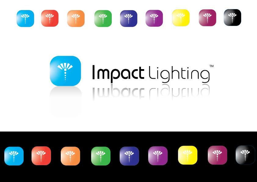 Inscrição nº 166 do Concurso para Logo Design for Impact Lighting