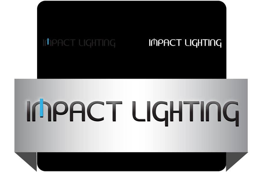 Bài tham dự cuộc thi #280 cho Logo Design for Impact Lighting
