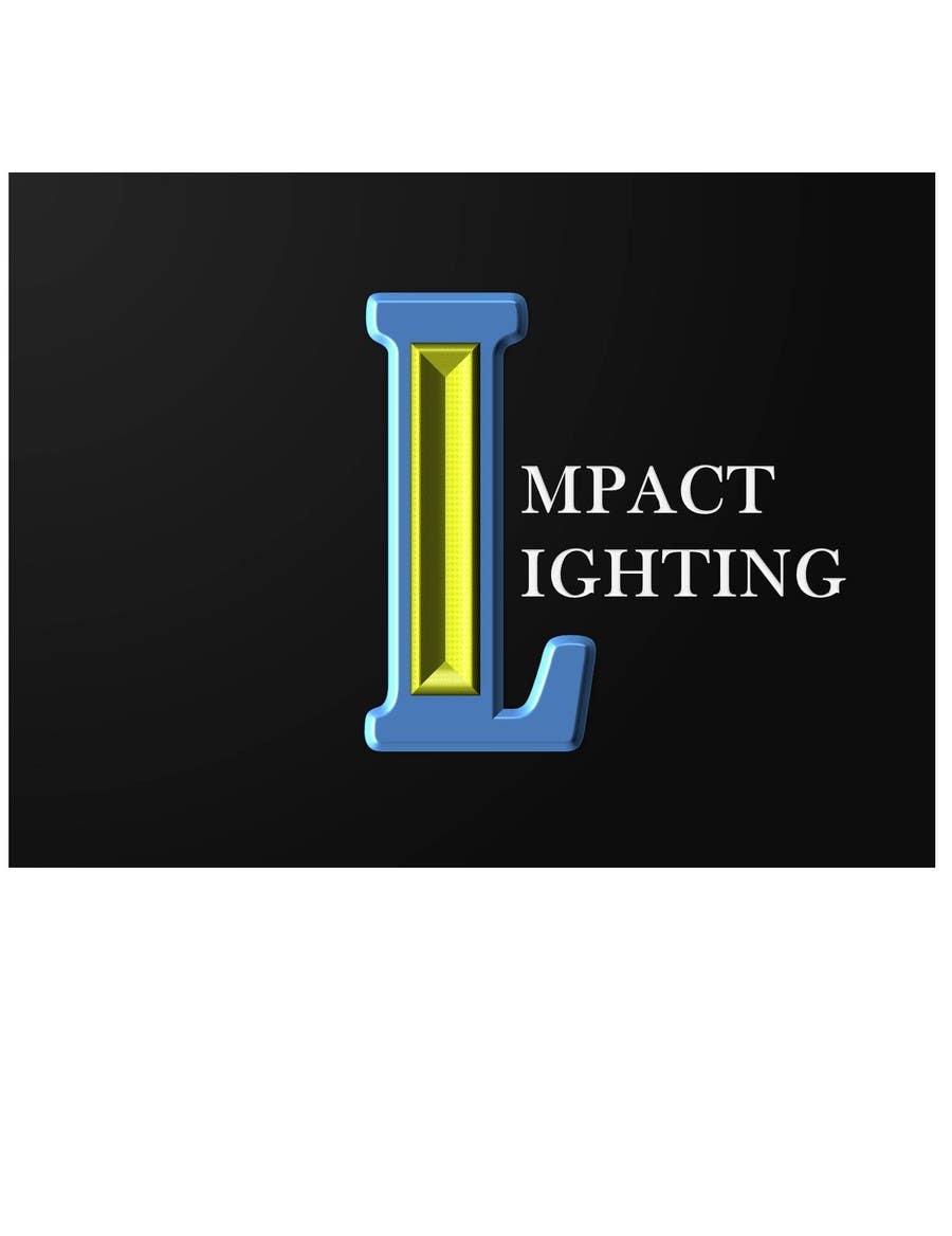 Bài tham dự cuộc thi #119 cho Logo Design for Impact Lighting