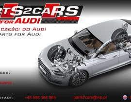 #3 for Nowy szablon ALLEGRO dla firmy parts2cars / części do AUDI by ssikora