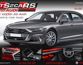 #7 for Nowy szablon ALLEGRO dla firmy parts2cars / części do AUDI by ssikora