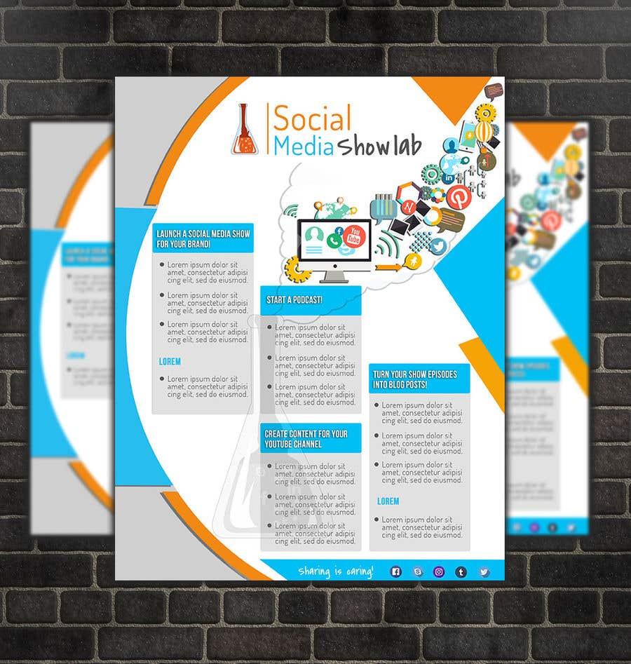 entry 6 by sidraahmad for create a marketing flyer jpeg pdf for