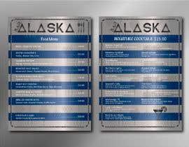 #88 for Bar Alaska Menu by cuatrocolores7