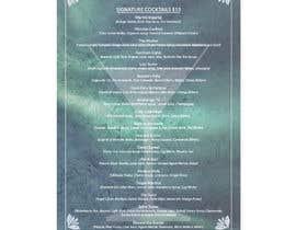 #82 for Bar Alaska Menu by svetlanadesign