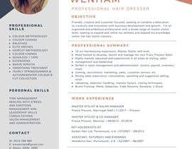 #39 for Create a resume by csonagra76