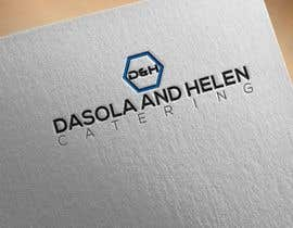#52 untuk I need a catering Logo Designed, the name of the company is DAH - Dasola and Helen catering oleh aminul9353