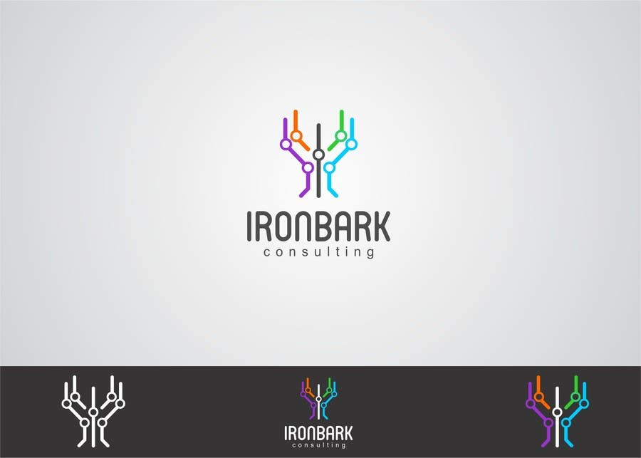 #111 for Logo Design for Ironbark Consulting by xcaped