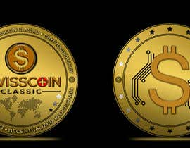#47 for Design for a modern crypto coin the front and back in 3D. by bibaaboel3enin