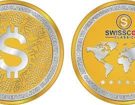 #41 for Design for a modern crypto coin the front and back in 3D. by engabousaleh
