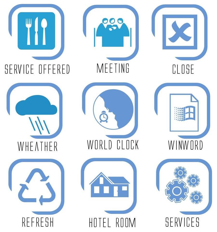 #13 for Icon or Button Design for Sazu Technologies by AbhinavKumarTak