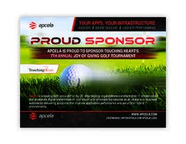 #39 for Design Sponsor Ad for Golf Tournament Brochure av pixelmanager