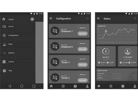 #23 for Android mobile app layout mockup by Bkmraj