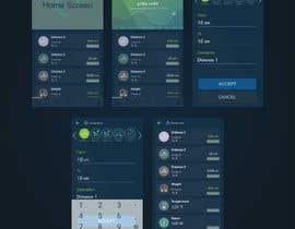 #7 for Android mobile app layout mockup by ahmed7najih