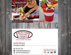#20 for Backyard Mary Mktg Materials by tanveermh