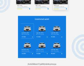 #2 for UI / UX Design for car marketplace website by Amdkhan90