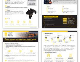 #36 for Design corporate brochure for a solar and energy company by bartolomeo1