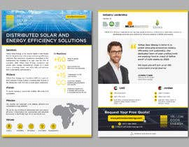 #38 for Design corporate brochure for a solar and energy company by AthurSinai