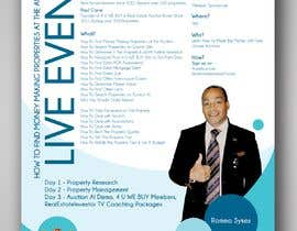 #5 for Design a Flyer for LIVE Real Estate Event by vaishaknair
