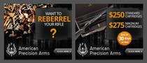 Entry # 5 for Banner Ad Design for American Precision Arms by