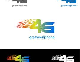 #24 for grameenphone 4G logo Design by ratulrajbd