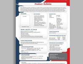 #27 for Design a Technical Data Sheet by princegraphics5
