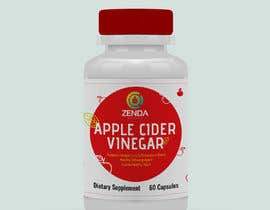 #31 for Design Label (and 3D Renders) for Supplement Bottle by simpion