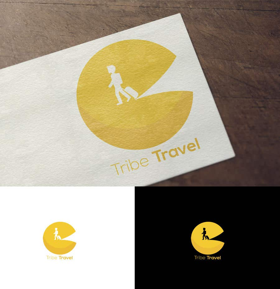 Contest Entry #                                        3                                      for                                         Tribe Travel Logo