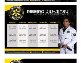 #62 for 3 Flyers for BJJ classes by Louiegi