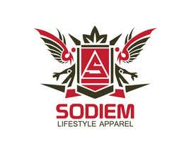nº 195 pour Logo Design contest for Sodiem Lifestyle Apparel par Sidqioe