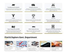 #63 for Redesign my Home Page Website by ehsanweb7
