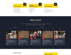 #68 for Redesign my Home Page Website by aliul