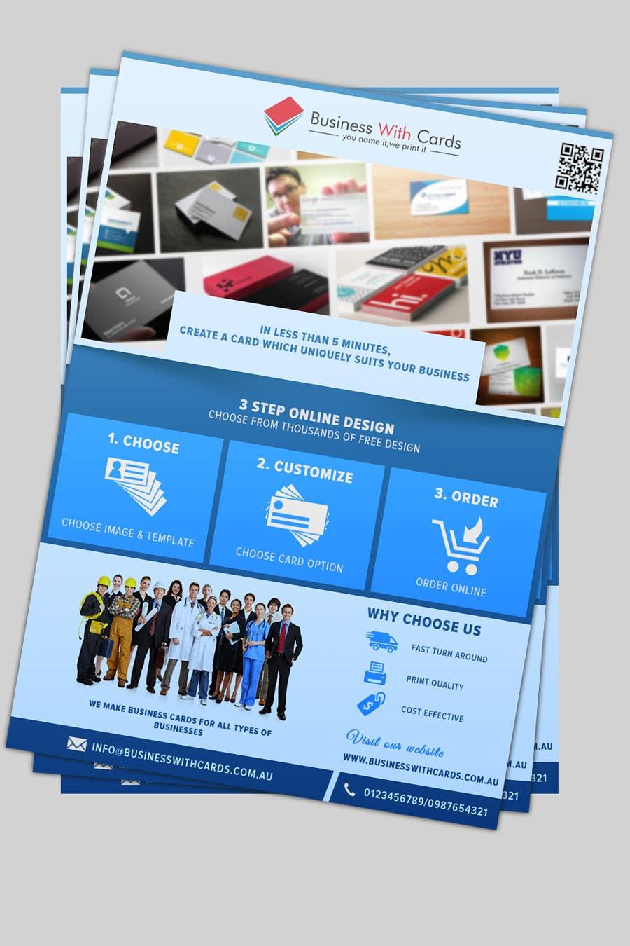 Entry 16 By Doradodo For Design A Marketing Flyer For A Printing