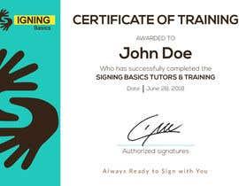 #3 for Certificate of Training by hossainahamed