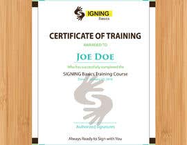 #92 for Certificate of Training by eusof2018