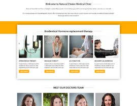 #24 for Create a landing page for naturopathic doctors at NCMC by rosepapri