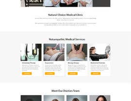 #23 for Create a landing page for naturopathic doctors at NCMC by DarshanSoni1217