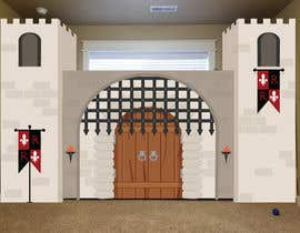 #8 for Illustrate castle-theme cabinet/bed in kids room by Exdrell