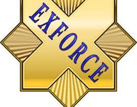 #13 untuk I want a logo completed for ex law enforcement. I want it to resemble a badge but to say ExForce in the middle of the badge. I want it to be as real as possible so 3d. oleh sechavia
