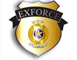 #5 untuk I want a logo completed for ex law enforcement. I want it to resemble a badge but to say ExForce in the middle of the badge. I want it to be as real as possible so 3d. oleh Nico984