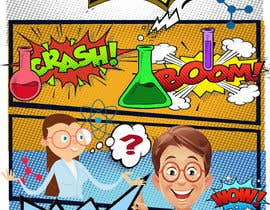 #8 untuk Create a Comic Book style Marketing Flyer oleh mayatindie