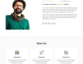 #15 for Personal landing page by riktapodder23