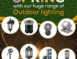 #49 for Design a Banner To Advertise Outdoor Lighting by owlionz786