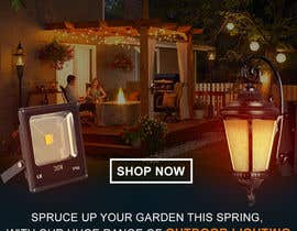 #51 for Design a Banner To Advertise Outdoor Lighting by muhaiminalsaiful