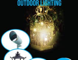 #58 for Design a Banner To Advertise Outdoor Lighting by tanjiasultana