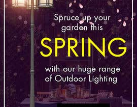 #44 for Design a Banner To Advertise Outdoor Lighting by Ashleyperez